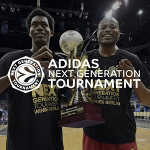 Madribble en el Adidas Next Generation Tournament de la Euroleague.
